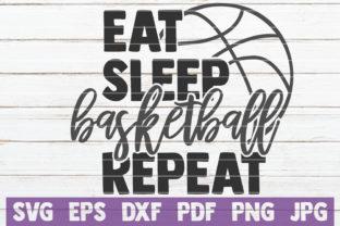 Download Free Eat Sleep Basketball Repeat Svg Cut File Graphic By for Cricut Explore, Silhouette and other cutting machines.