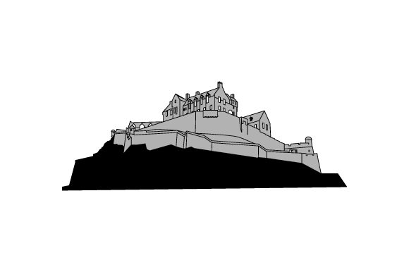 Download Free Edinburgh Castle Svg Cut File By Creative Fabrica Crafts SVG Cut Files