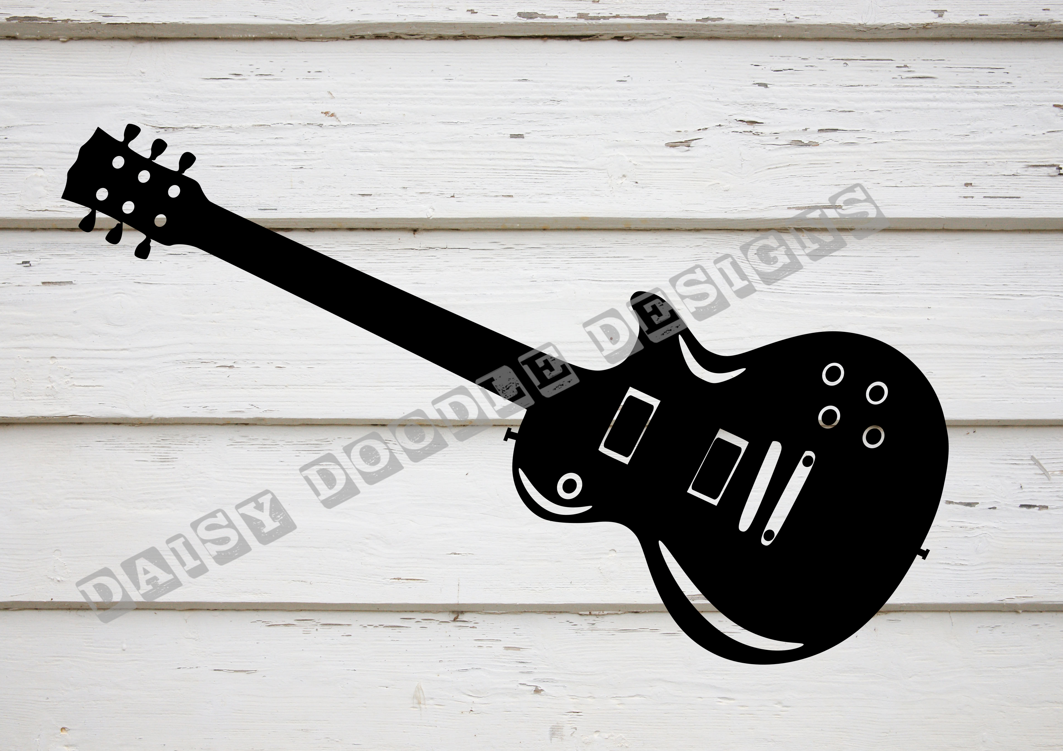 Download Free Electric Guitar Graphic By Daisydoodledesigns Creative Fabrica SVG Cut Files