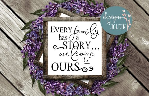 Print on Demand: FAMILY Designs Bundle Graphic Crafts By Designs by Jolein - Image 2