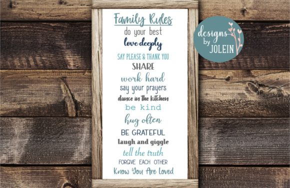 Print on Demand: FAMILY Designs Bundle Graphic Crafts By Designs by Jolein - Image 3