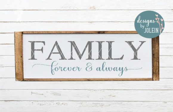 Print on Demand: FAMILY Designs Bundle Graphic Crafts By Designs by Jolein - Image 4