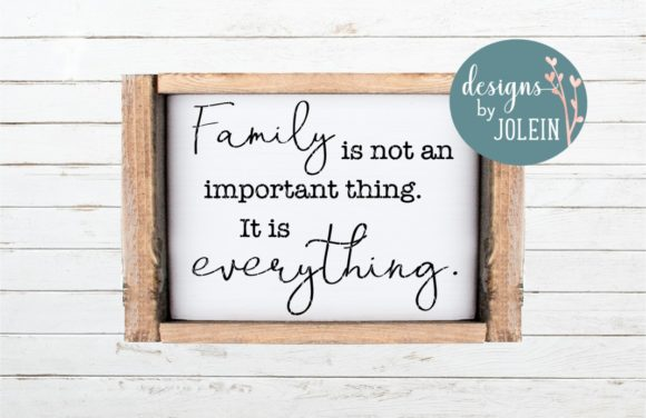 Download Free Family Is Everything Graphic By Designs By Jolein Creative Fabrica SVG Cut Files