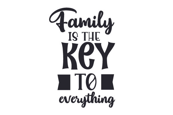 Download Free Family Is The Key To Everything Svg Cut File By Creative Fabrica for Cricut Explore, Silhouette and other cutting machines.