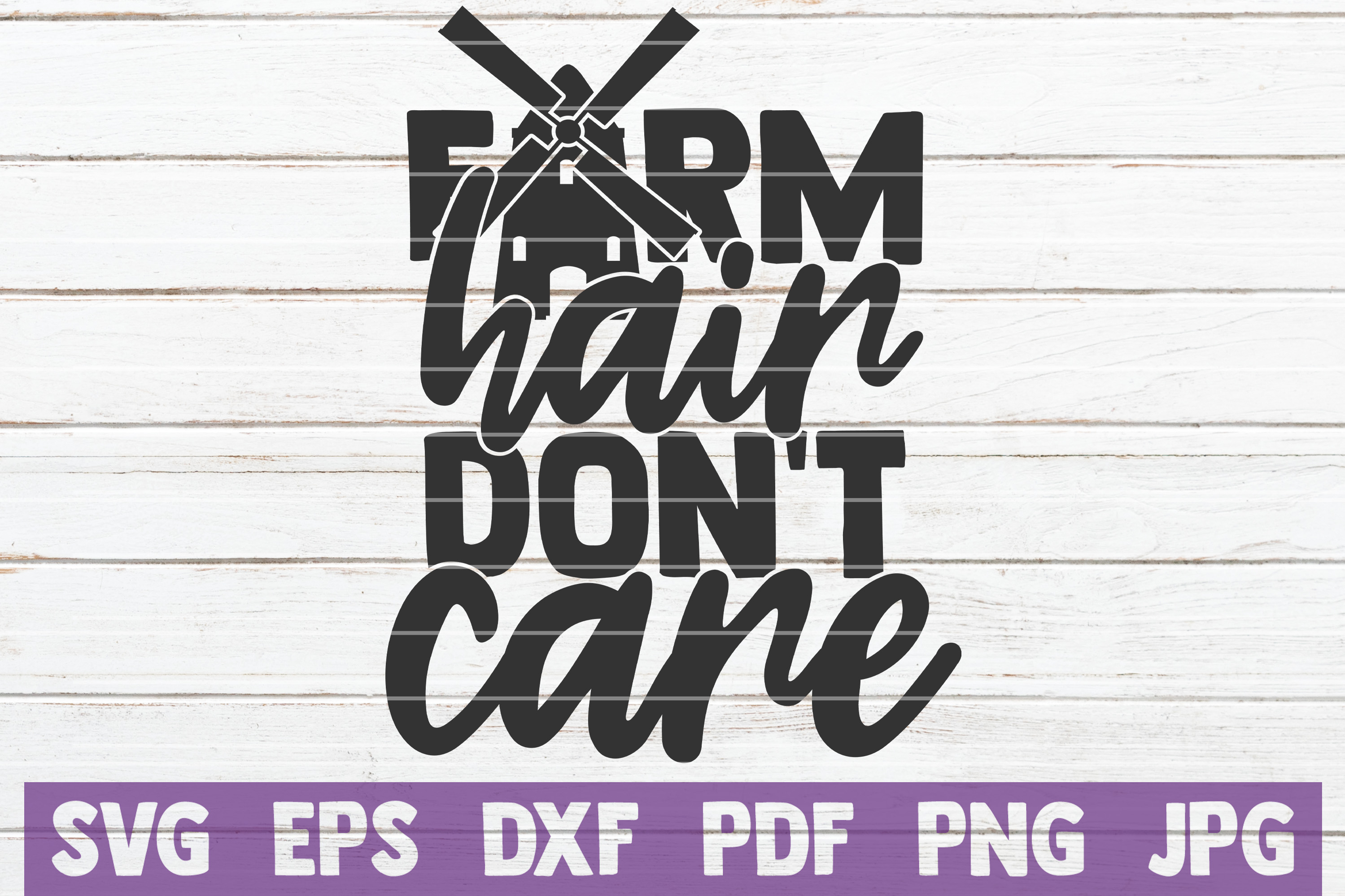 Download Free Farm Hair Don T Care Svg Cut File Graphic By Mintymarshmallows for Cricut Explore, Silhouette and other cutting machines.