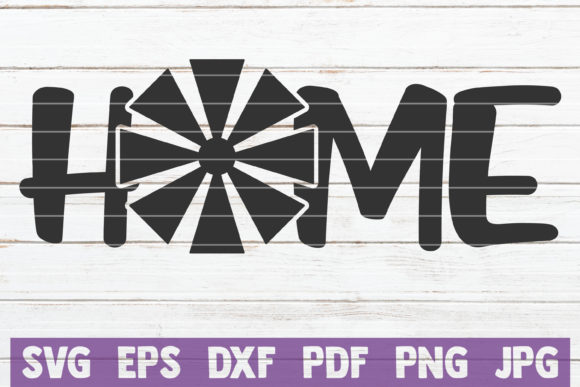 Farm Home Cut File Graphic Graphic Templates By MintyMarshmallows - Image 1
