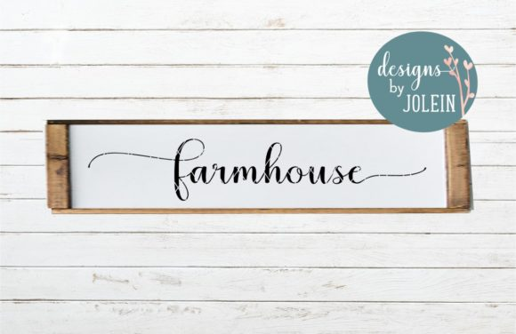 Download Free Farmhouse Svg Craft File Graphic By Designs By Jolein for Cricut Explore, Silhouette and other cutting machines.