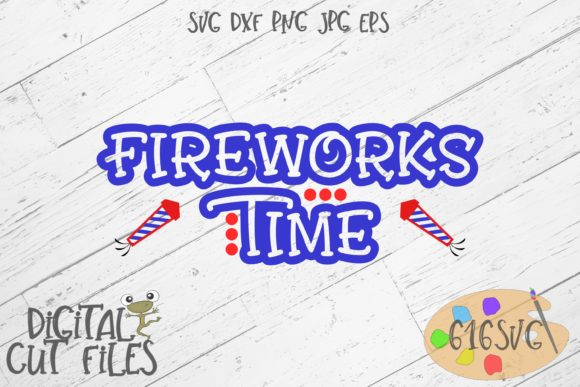 Download Free Fireworks Time Graphic By 616svg Creative Fabrica for Cricut Explore, Silhouette and other cutting machines.