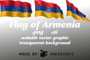 Flag of Armenia Graphic By ingoFonts