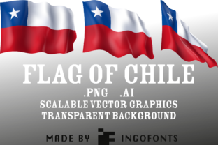 Flag of Chile Graphic By ingoFonts