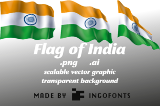 Download Free Flag Of India Graphic By Ingofonts Creative Fabrica for Cricut Explore, Silhouette and other cutting machines.