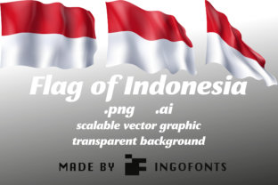 Download Free Flag Of Indonesia Graphic By Ingofonts Creative Fabrica for Cricut Explore, Silhouette and other cutting machines.