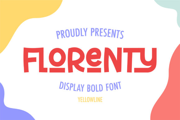 Print on Demand: Florenty Display Font By yellowline