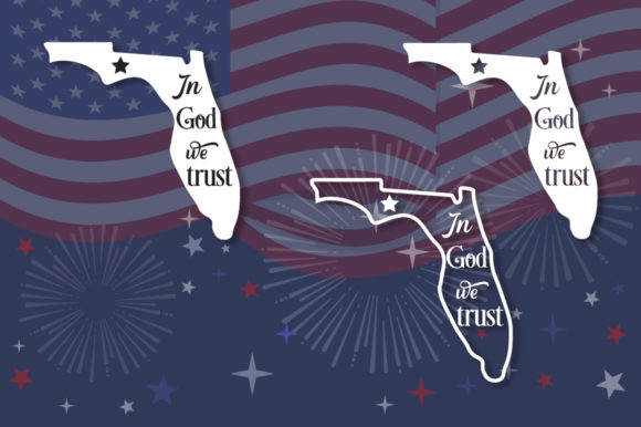 Print on Demand: Florida State Motto SVG Graphic Crafts By Anastasia Feya