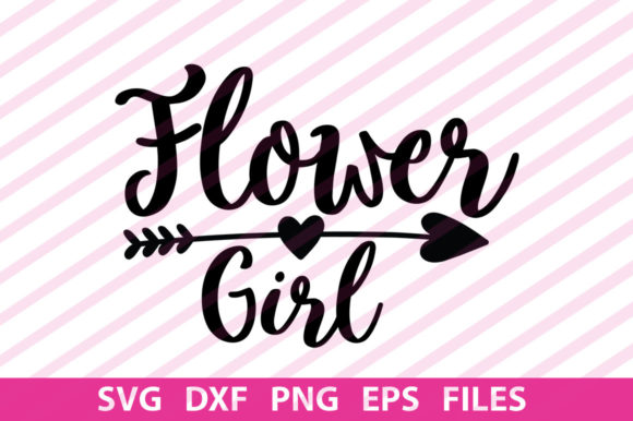 Print on Demand: Flower Girl Graphic Print Templates By svgbundle.net
