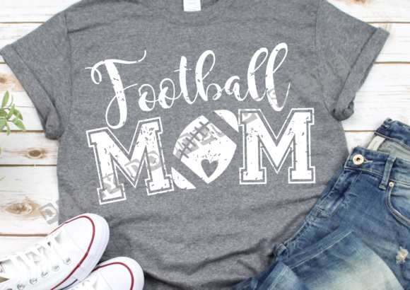 Download Free Football Mom Graphic By Daisydoodledesigns Creative Fabrica for Cricut Explore, Silhouette and other cutting machines.
