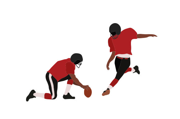 Download Free Football Player Kicking Ball With Holder Svg Cut File By for Cricut Explore, Silhouette and other cutting machines.
