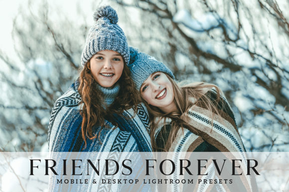Print on Demand: Friends Forever Lightroom Presets Graphic Actions & Presets By Creative Tacos