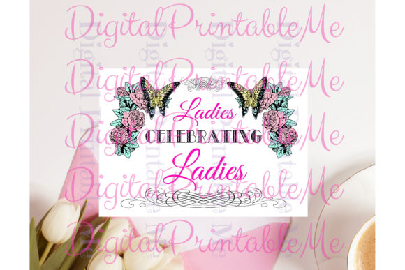 Galentines Day Card Friendship Women Graphic By DigitalPrintableMe