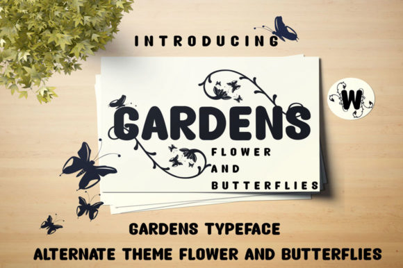Print on Demand: Gardens Script & Handwritten Font By jehansyah251