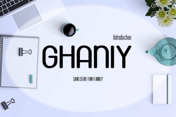 Ghaniy Font By InDhika Image 1
