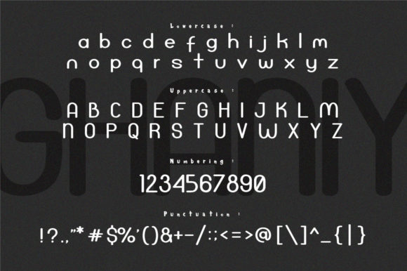 Ghaniy Font By InDhika Image 5