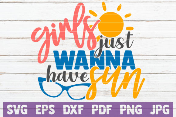 Download Free Girls Just Wanna Have Fun Svg Cut File Graphic By for Cricut Explore, Silhouette and other cutting machines.