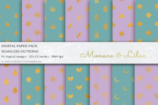 Glitter Geometric Digital Papers Graphic By damlaakderes