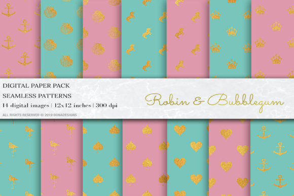 Glitter Geometric Digital Papers,Pattern Graphic Patterns By BonaDesigns