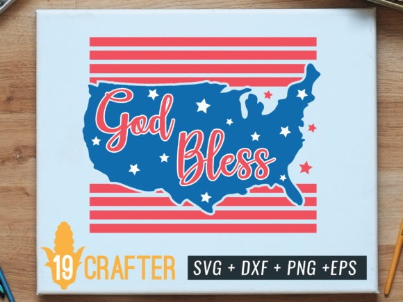 Print on Demand: God Bless America Graphic Crafts By great19