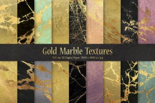 Gold Marble Patterns Graphic By artisssticcc