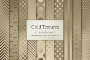 Gold Textures Graphic By artisssticcc