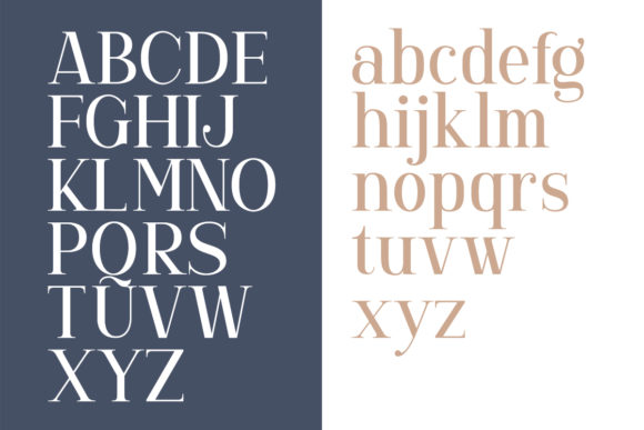 Print on Demand: Gorgone Serif Font By letterhend - Image 9