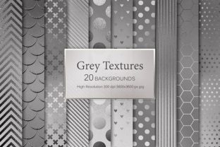Grey Textures Graphic By artisssticcc
