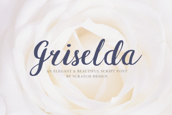 Print on Demand: Griselda Script & Handwritten Font By Scratch Design - Image 1