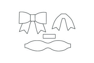 Hair Bow Template Beauty & Fashion Craft Cut File By Creative Fabrica Crafts