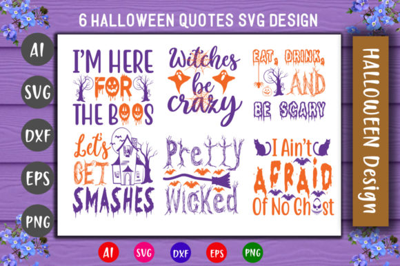 Print on Demand: Halloween Bundle Graphic Crafts By CreativeArt