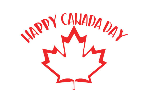 Download Free Happy Canada Day Svg Cut File By Creative Fabrica Crafts for Cricut Explore, Silhouette and other cutting machines.