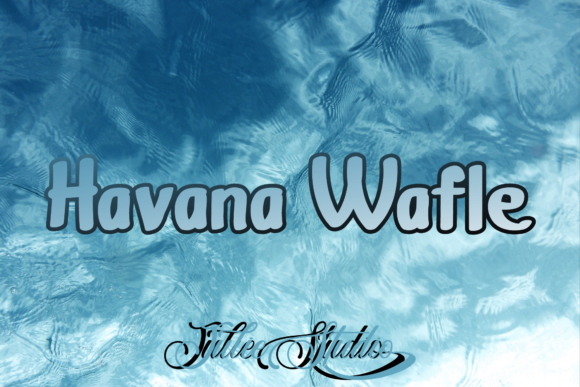 Print on Demand: Havana Display Font By Julie Studio