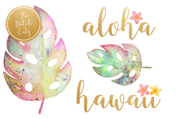 Hawaiian Tiki Mask Clipart Set Graphic By daphnepopuliers Image 2