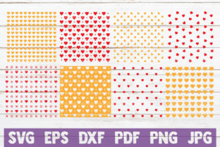Heart Pattern Cut Files Graphic Graphic Templates By MintyMarshmallows