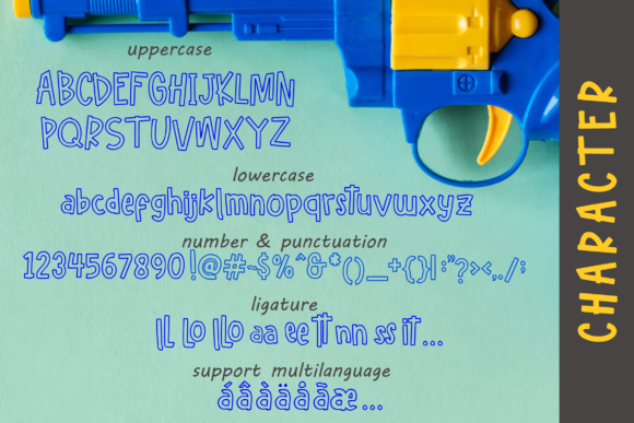 Print on Demand: Hello Freeday Display Font By glyphstyle - Image 7