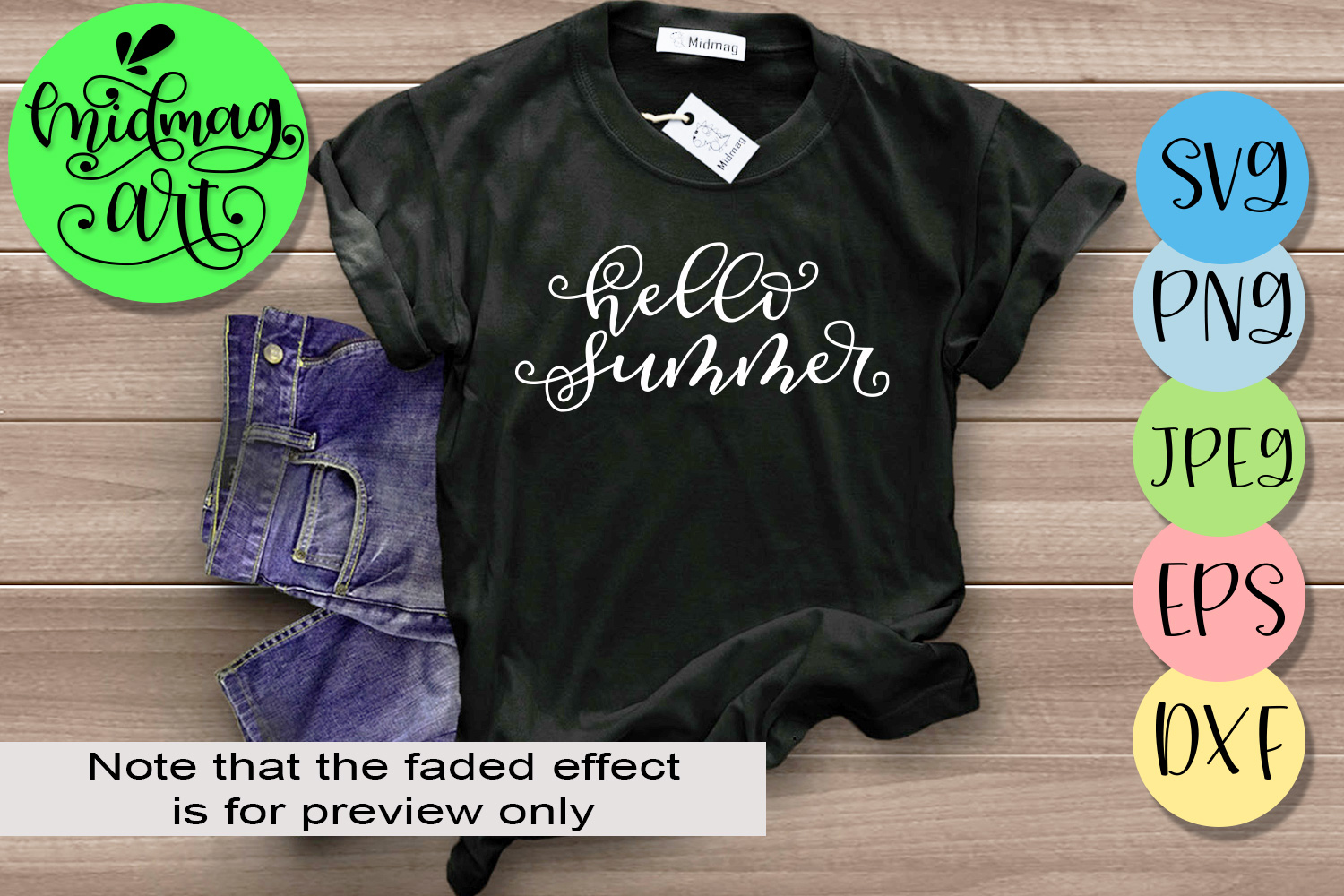 Download Free Hello Summer Svg Graphic By Midmagart Creative Fabrica for Cricut Explore, Silhouette and other cutting machines.