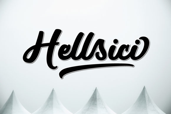 Print on Demand: Hellsici Script & Handwritten Font By Great's St