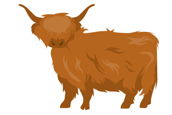 Download Free Highland Cow Svg Cut File By Creative Fabrica Crafts Creative for Cricut Explore, Silhouette and other cutting machines.