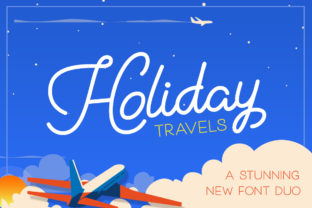 Holiday Duo Font By Salt & Pepper Designs