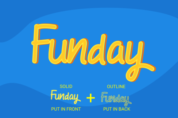 Print on Demand: Holiday Funday Script & Handwritten Font By Rvandtype - Image 3