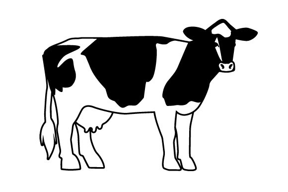 Download Free Holstein Cow Svg Cut File By Creative Fabrica Crafts Creative for Cricut Explore, Silhouette and other cutting machines.