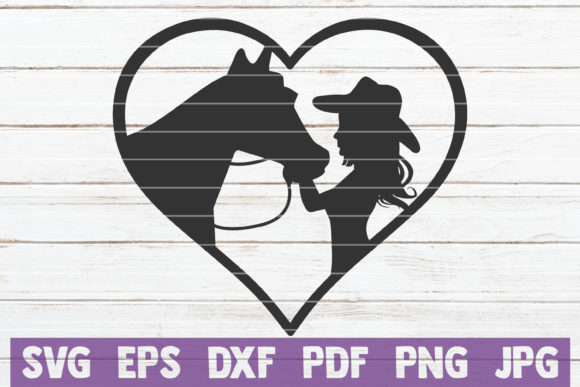 Horses SVG Bundle | SVG Cut Files Graphic Graphic Templates By MintyMarshmallows - Image 8