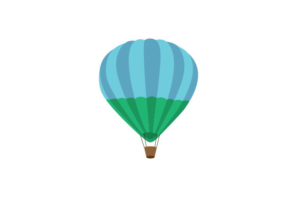 Hot Air Balloon Craft Design By Creative Fabrica Crafts Image 1